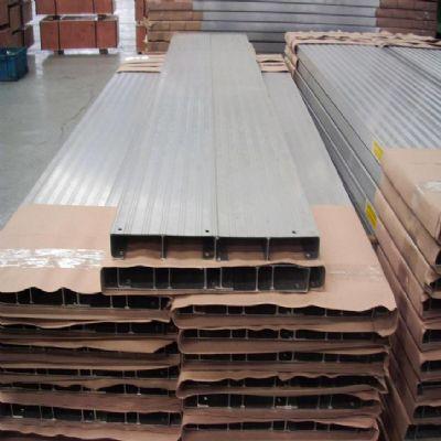 Aluminium planken trailer